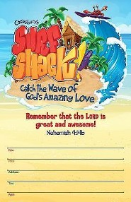 VBS 2016 Surf Shack: Catch the Wave of God's Amazing Love - Large Promotional Poster