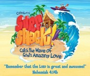 VBS 2016 Surf Shack: Catch the Wave of God's Amazing Love - Large Logo Poster
