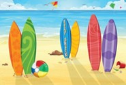 VBS 2016 Surf Shack: Catch the Wave of God's Amazing Love - Decorating Mural