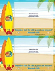 VBS 2016 Surf Shack: Catch the Wave of God's Amazing Love - Follow-Up Photo Frames (Pkg of 50)