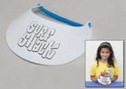 VBS 2016 Surf Shack: Catch the Wave of God's Amazing Love - Preschool Craft Sun Visor (Pkg of 6)