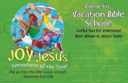 VBS 2016 Joy in Jesus Everywhere! All the Time! - Outdoor Banner