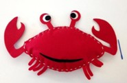 VBS 2016 Surf Shack: Catch the Wave of God's Amazing Love - Snappy the Crab Mission Pillow (Pkg of 6)