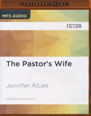 The Pastor's Wife - unabridged audio book on MP3-CD