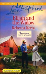 Elijah and the Widow, Large Print