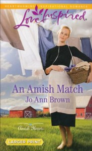 An Amish Match, Large Print