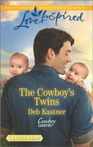 The Cowboy's Twins, Large Print