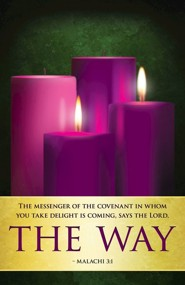 The Way Advent Sunday 2 Bulletins, Pack of 50