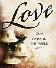 Love Bells Images Advent Large Bulletins, Pack of 50