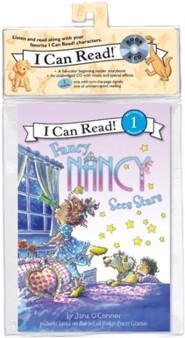 Fancy Nancy Sees Stars Book and CD  -     By: Jane O'Connor     Illustrated By: Robin Preiss Glasser