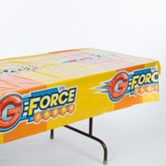 VBS 2015 G-Force: God's Love in Action - Tablecloth
