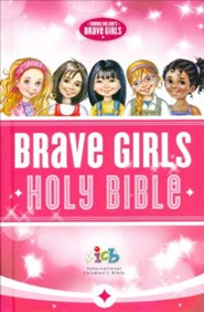 ICB Tommy Nelson's Brave Girls Devotional Bible, hardcover