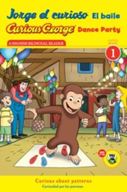 Jorge el curioso El baile, Curious George Dance Party CGTV Reader  -     By: H.A. Rey