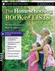 The Homeschooling Book of Lists  -     By: Mary Leppert, Michael Leppert