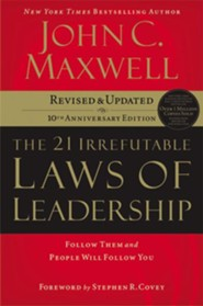 The 21 Irrefutable Laws of Leadership [Download]