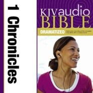 KJV Audio Bible, Dramatized: 1 Chronicles Audiobook  [Download] -     By: Zondervan