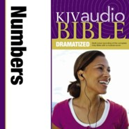 KJV Audio Bible, Dramatized: Numbers Audiobook [Download]