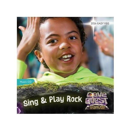 7335042: Cave Quest VBS 2016: Base Camp Sing & Play Music, Participant's Version-CD