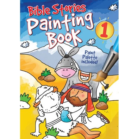 Bible stories painting activity book