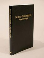 Spanish English New Testament-PR-RV/KJV, Imitation Leather, Black