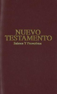 Pocket New Testament with Psalms and Proverbs-Rvr 1960, Imitation Leather, Cranberry Red