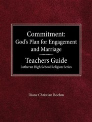 Commitment: God's Plan for Engagement & Marriage  -     By: Diane Boehm