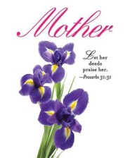 Iris Mother's Day Bulletin, Large (Package of 50)