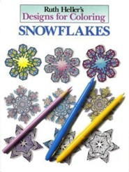 Designs for Coloring: Snowflakes
