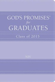 NIV God's Promises for Graduates: Class of 2015, Lavender