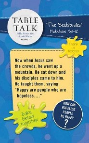 Table Talk Volume 2 - Bible Stories You Should Know - Table Toppers (5 Sets of 6)