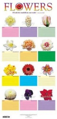 Flower Chart - Tubed