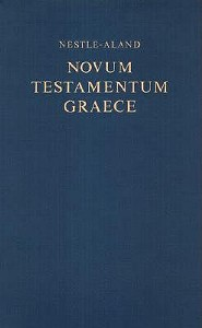Greek New Testament, Nestle-Aland-Large Print, Edition 0027, Cloth, Blue