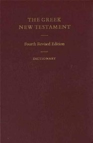 Greek New Testament, Cloth, Burgundy  -     By: American Bible Society