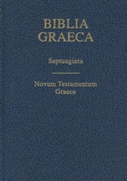 Biblia Graeca- Septuagint, Cloth, Blue - Slightly Imperfect
