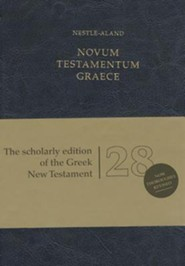 Novum Testamentum Graece, Nestle-Aland 28th Revised edition - Imitation Leather, Navy