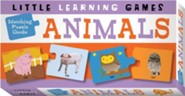 Matching Puzzle Cards: Animals   -              By: Ana Larranaga