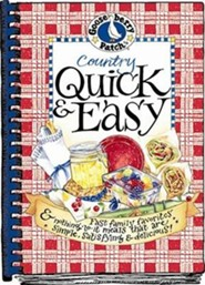 Country Quick & Easy Cookbook  -     By: Gooseberry Patch