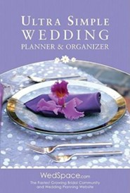 Ultra Simple Wedding Planner & Organizer  -     