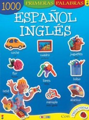 1000 Primeras Palabras Espanol-Ingles  -     By: Manuela Martin(ILLUS)     Illustrated By: Manuela Martin