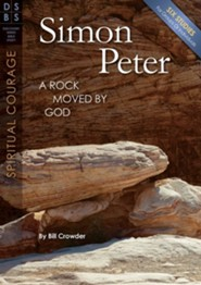 Simon Peter: A Rock Moved by God - Discovery Series Bible Study - booket