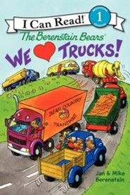 The Berenstain Bears: We Love Trucks!, Hardcover  -     By: Jan Berenstain, Mike Berenstain     Illustrated By: Jan Berenstain