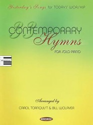 33 Contemporary Hymns: Yesterday's Songs for Today's Worship Piano Solo