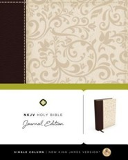 NKJV Holy Bible, Journal Edition, Trade Paper