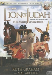 The Lion of Judah Audio Book CD   -     By: Ruth Graham, Mae Archila