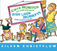 Cinco Monitos Sin Nada que Hacer, Five Little Monkeys With Nothing to Do