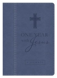 One Year with Jesus Journal: Daily Encouragement from the Words of Christ