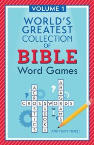 World's Greatest Collection of Bible Word Games - Volume 1