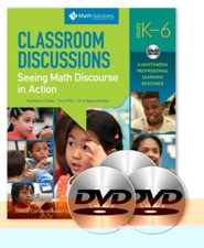 Classroom Discussions: Seeing Math Discourse in Action (A Multimedia Professional Learning Resource)  -     By: Nancy Anderson, Suzanne Chapin, Cathy O'Connor