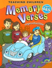 Teaching Children Memory Verses: Ages 4&5