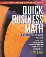 Quick Business Math: A Self-Teaching Guide  -     By: Steve Slavin